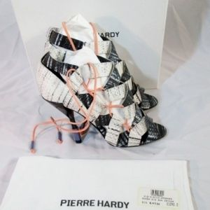 NEW PIERRE HARDY ZIG ZAG SNAKE Stiletto